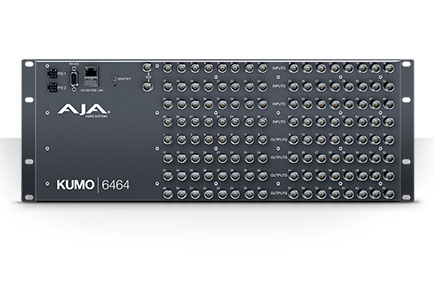 AJA KUMO 6464 Compact SDI Router Now Available
