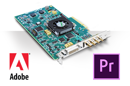 AJA AnnouncesSupport for LatestAdobe Premiere Pro CC Spring Release Including Hybrid Log Gamma (HLG) HDR Workflows