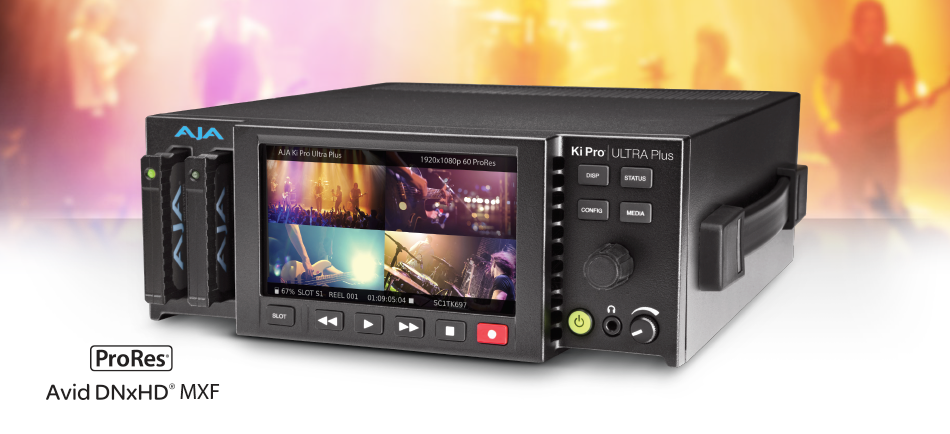 AJA Launches Ki Pro Ultra Plus with  4-Channel HD Recording and HDMI 2.0 Support