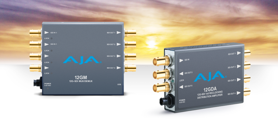 AJA Unveils New 12G-SDI and Fiber Mini-Converters at NAB 2017