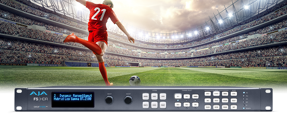 AJA Releases FS-HDR for Real Time HDR and WCG Conversion and Processing