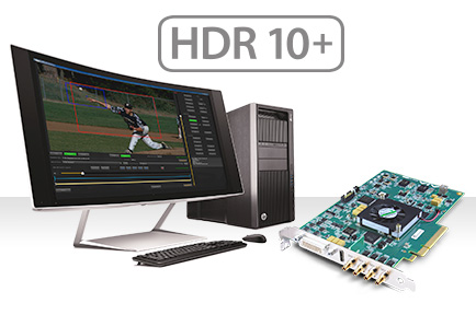 AJA Announces HDR 10+ SDK Support for KONA 4®, Io® 4K, Io 4K Plus and Corvid 4K Developer Cards