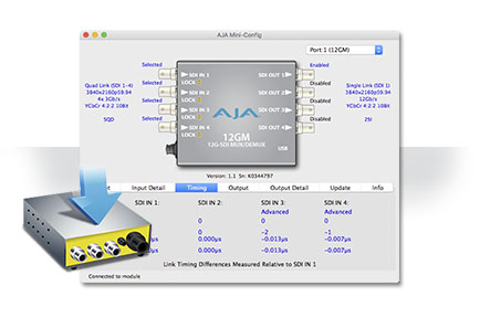AJA Releases Mini-Config v2.21.2 Software UpdateExtending Mini-Converter Features