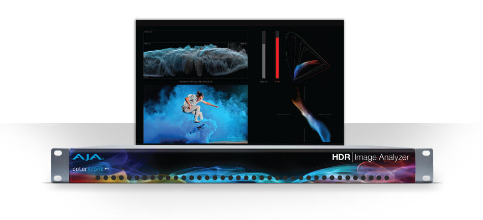 AJA Previews HDR Image Analyzer at NAB 2018