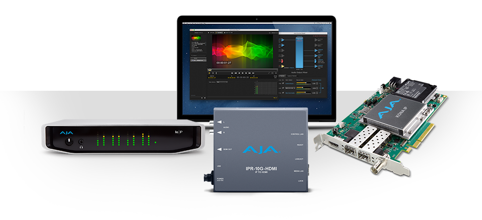 AJA Announces New Solutions Supporting SMPTE ST 2110 at NAB 2018