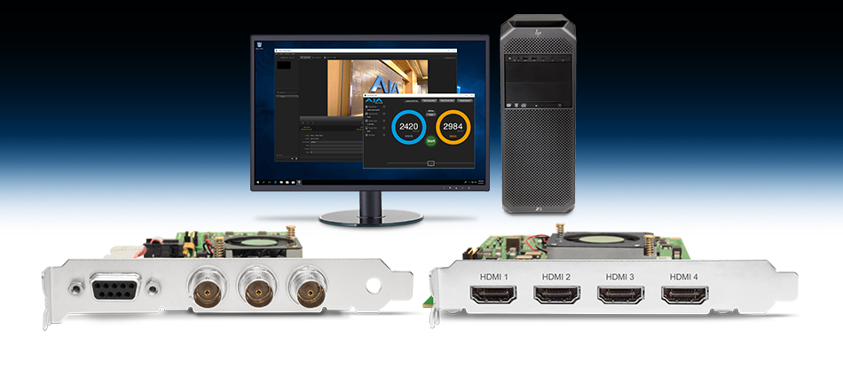 AJA Introduces KONA HDMI, KONA 1 and Desktop Software v14.2 at NAB 2018