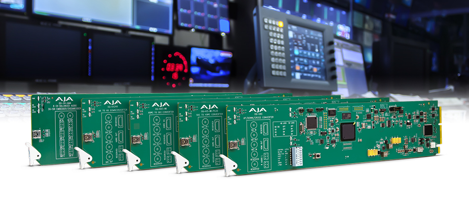 AJA Introduces Five New openGear Cards with DashBoard Support at NAB 2018