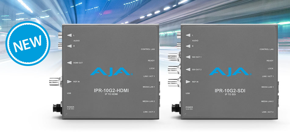 AJA Expands IP Mini-Converter Portfolio at IBC 2018 - Top Stories