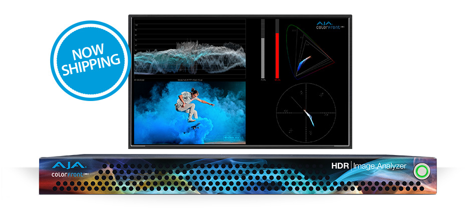 AJA HDR Image Analyzer is Now Shipping