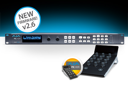 AJA Ships FS-HDR v2.6 with New Dynamic LUTs