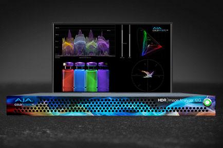AJA Unveils HDR Image Analyzer 12G at IBC 2019