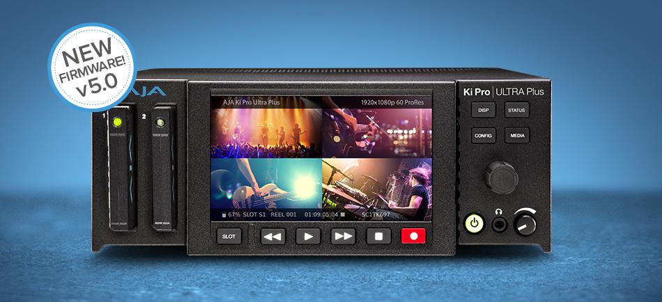 AJA Upgrades Ki Pro GO & Ki Pro Ultra Plus