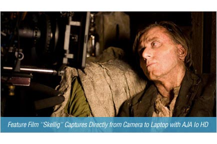 Feature Film 'Skellig' Captures Directly from Camera to Laptop with AJA Io HD