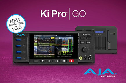 AJA Introduces Ki Pro GO v3.0 With New Network-Recording