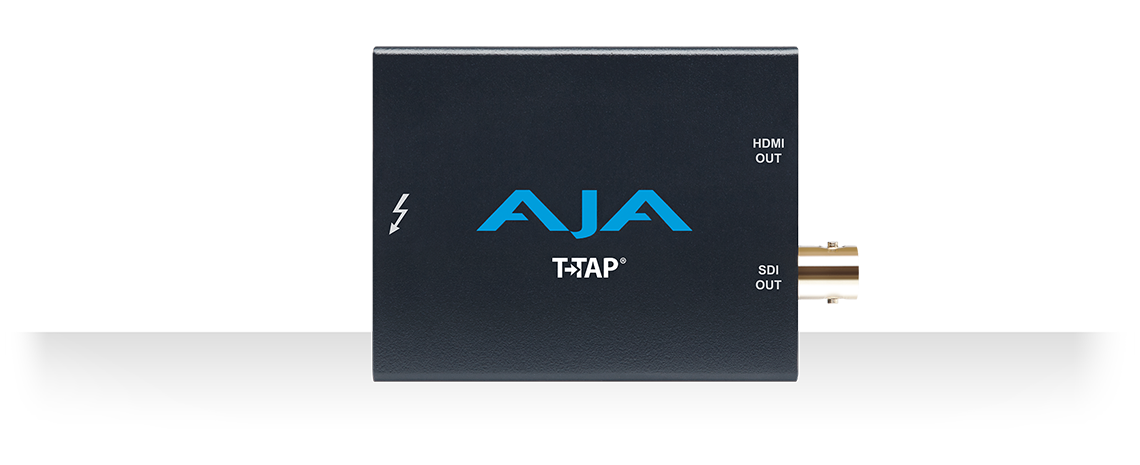 T-TAP® - Thunderbolt™ powered SDI and HDMI output - Mobile I