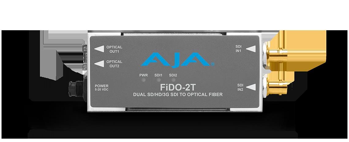 FiDO-2T - 2-Channel 3G-SDIto Single-Mode LC Fiber Transmitter - LC