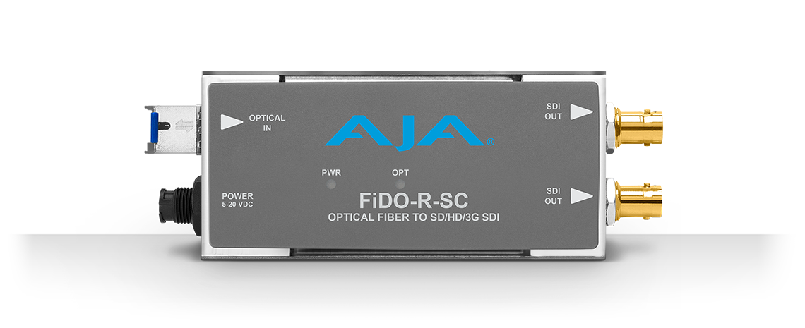 FiDO-R-SC - 1-Channel Single-Mode SC Fiberto 3G-SDI Receiver