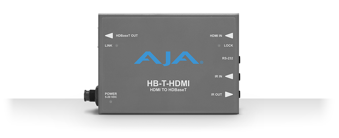 HB-T-HDMI - HDMI to HDBaseT - HDBaseT - Products - AJA Video Systems