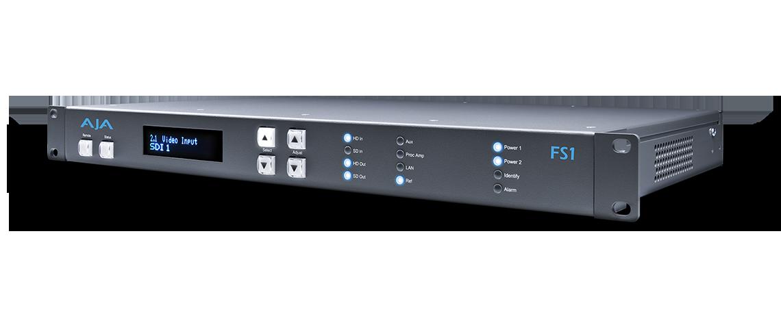 FS1 - Universal Frame Synchronizer/Converter - FS - Products - AJA ...