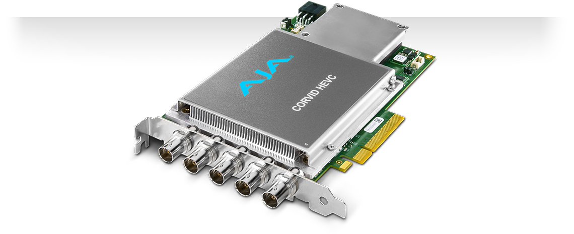 Corvid HEVC - 4K and Multi-Channel HEVC Encoding - Developer