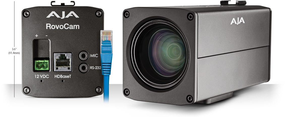 RovoCam - Integrated UltraHD/HD Camera with HDBaseT