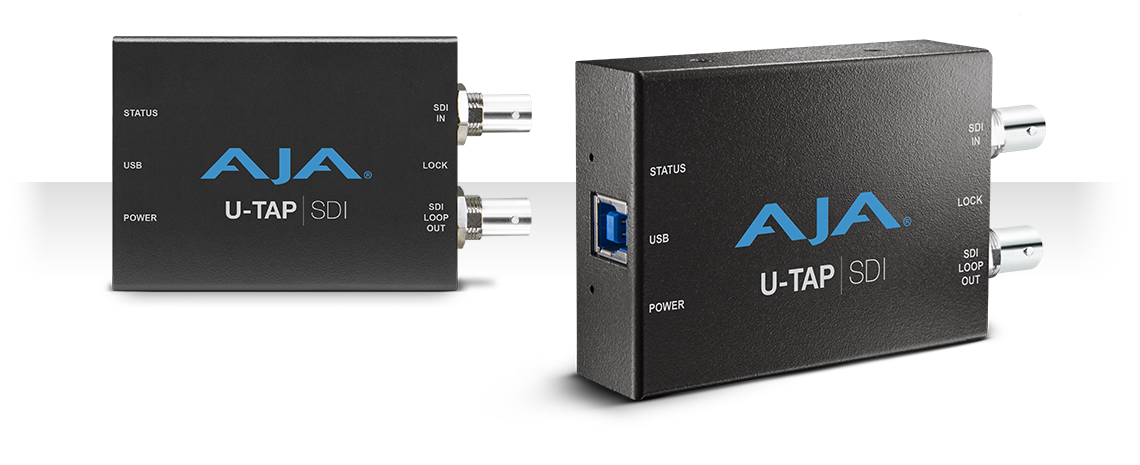 U-TAP SDI - Simple USB 3.0 Powered SDI Capture - Products - AJA ...