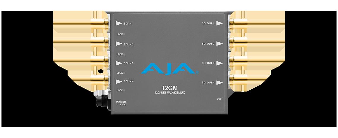 12GM - 12G-SDI to/from SDI Muxer/DeMuxer - Infrastructure