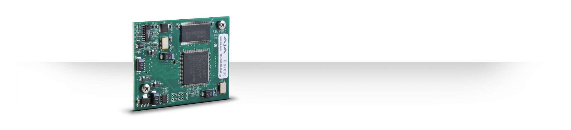 FSG - Frame Sync/Genlock Module - Rackframes - Products - AJA Video ...
