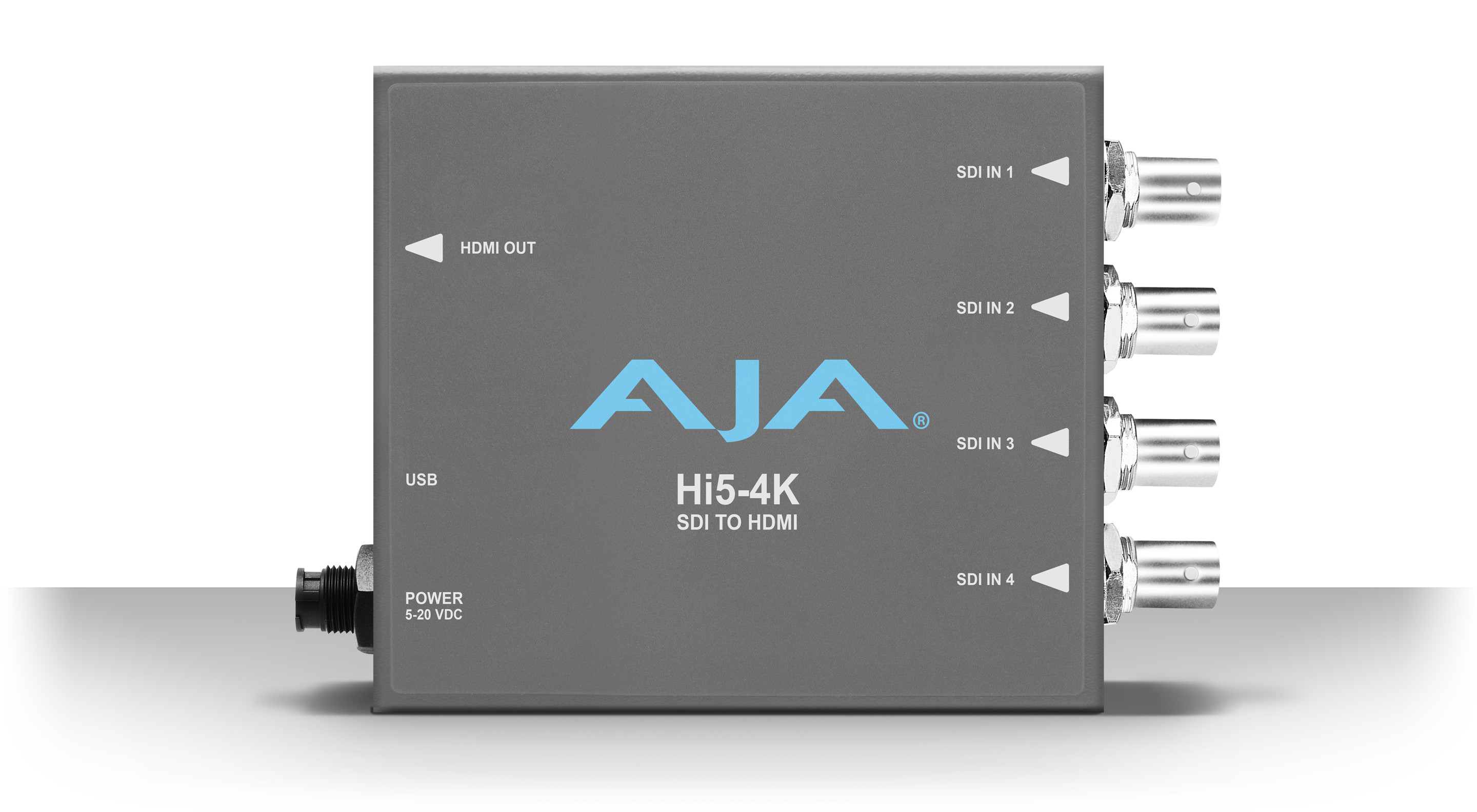 Hi5-4K - 4K SDI to 4K HDMI - Products - AJA Video Systems