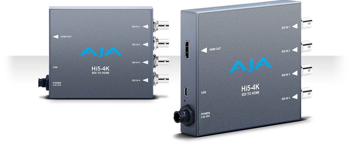 Hi5-4K - 4K SDI to 4K HDMI - Mini-Converters - Products - AJA Video ...