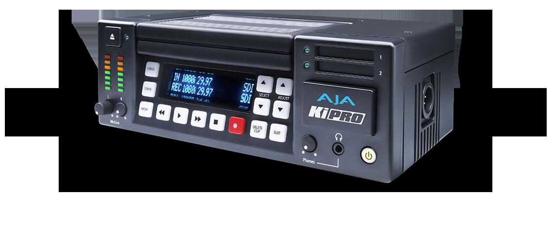 Ki Pro - Portable file-based HD/SD recorder and player