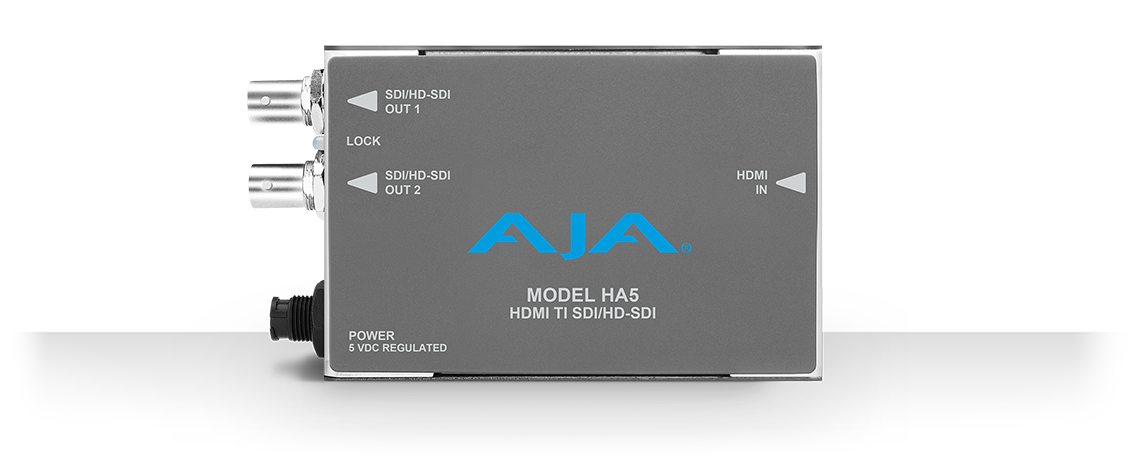 HA5 - HDMI to SD/HD-SDI Video and Audio Converter - HDMI