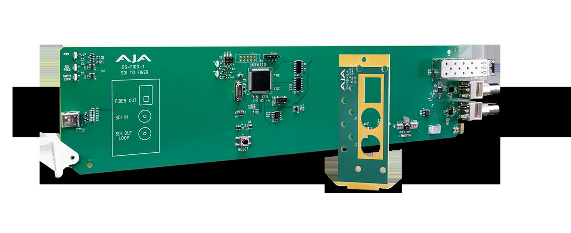 OG-FiDO-T-MM - openGear 1-Channel 3G-SDI to Multi-Mode LC Fiber