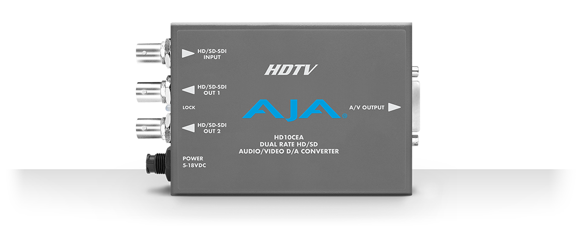 hd10cea sd hd sdi to analog audio video mini converters Optical Input Converter sd video outputs can be configured as ypbpr betacam or smpte ebu n10 rgb posite or yc s video
