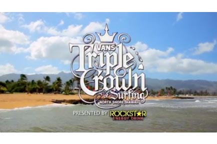 AJA Ki Pro Powers Vans Triple Crown Surf Competition Broadcast for Web, Mobile and TV
