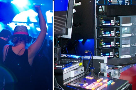 AJA Ki Pro Helps Second Sight Video Extend DJ Tiesto Concert to Remote Fans