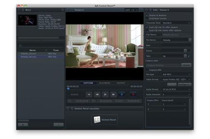 AJA Introduces New, Unified AJA Control Room Software at IBC 2011