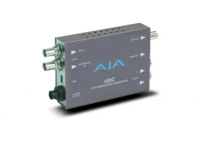 AJA Announces UDC Up/Down/Cross Mini-Converter at IBC 2011