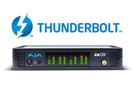 AJA Io XT With Thunderbolt Technology Is Now Available