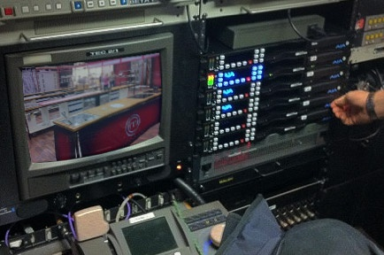 Luxor Takes Mobile Production Truck Digital with AJA Ki Pro Rack and Apple FCPX
