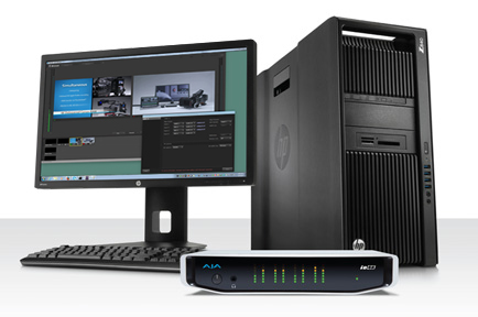 AJA Boosts Support for Telestream Wirecast with Release of New v12.1 Software for KONA and Io