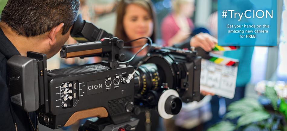 AJA Launches #TryCION Camera Promotion at NAB 2015