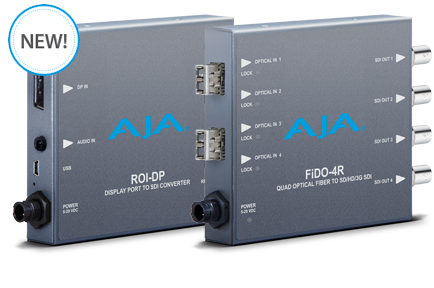 AJA Debuts New Mini-Converters at InfoComm 2015