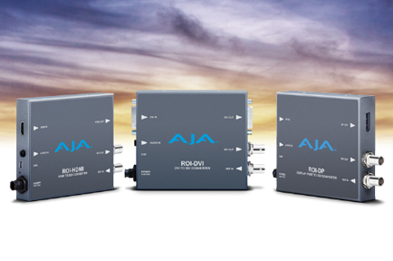 AJA Debuts New Mini-Converters at IBC 2015