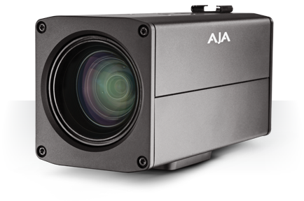 AJA's New RovoCam Integrated UltraHD/HD Camera with HDBaseT Delivers Single Cable Support for Video, Audio, Control, and Power