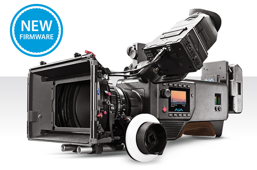 AJA Releases CION v1.3 Firmware with New Gamma Settings; Announces New Pak1000 Promo for CION Purchases