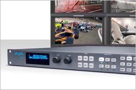 AJA Releases FS4 Frame Synchronizer and Converter