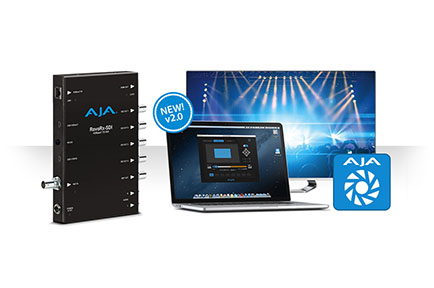 AJA Ships RovoControl v2.0 Software and the RovoRx-SDI Receiver  Boosting RovoCam HDBaseT Camera Workflows