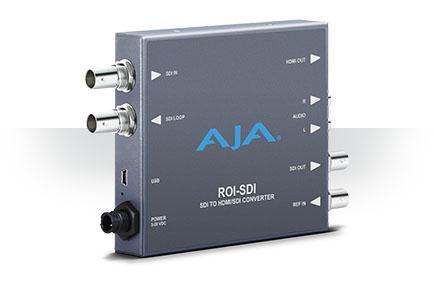 AJA Releases ROI-SDI Scan Converter