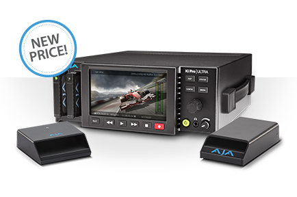 AJA Announces $1000 Price Drop for Ki Pro Ultra File-Based Recorder and Player
